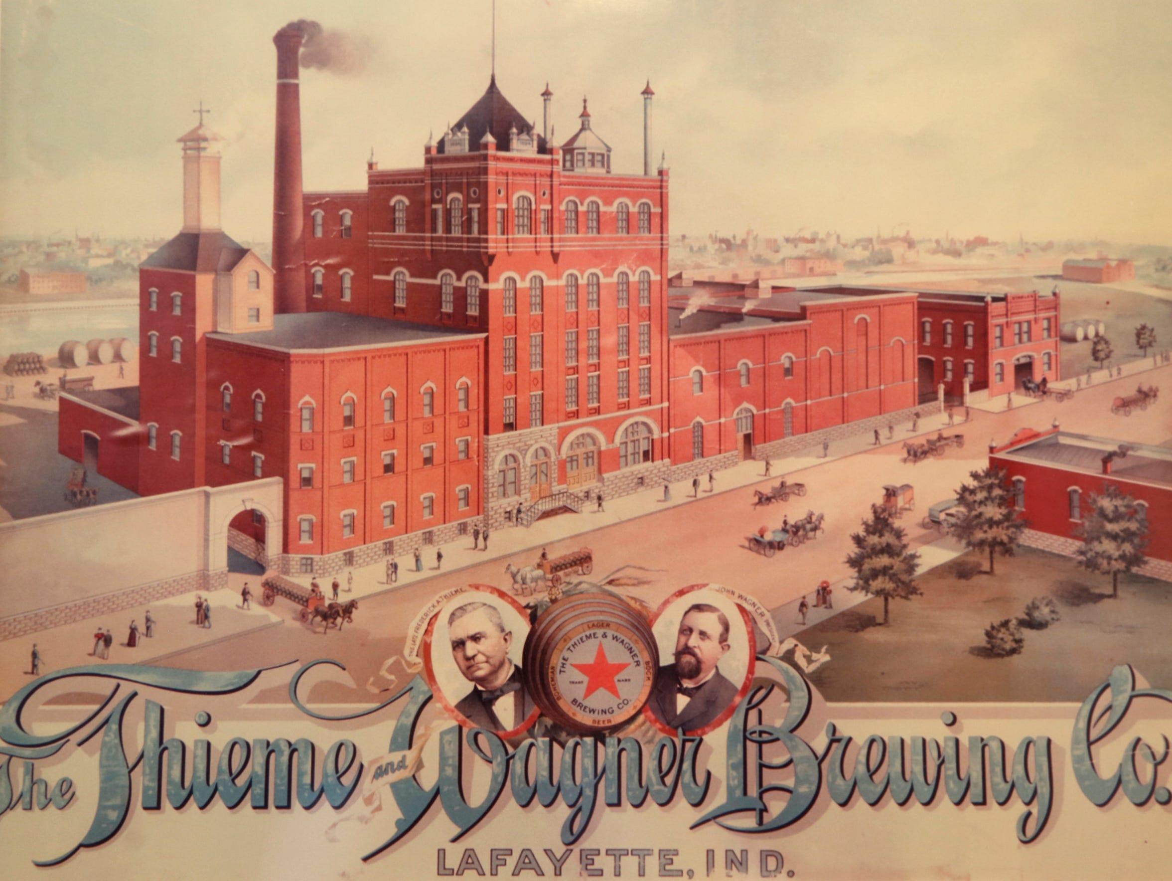 Thieme & Wagner beer memorabilia that is part of Walt