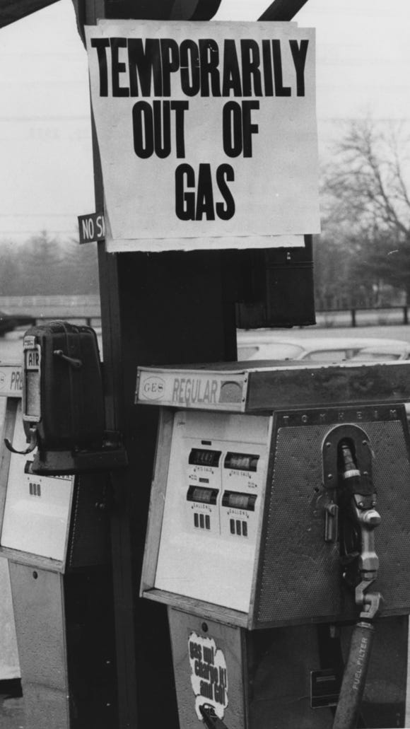 This Breckenridge Lane  gas station had no gas to sell