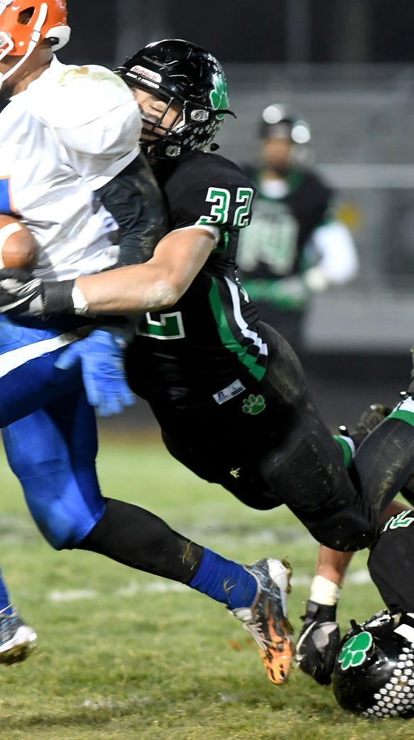 The Mountain Heritage Cougars defeated the Lexington