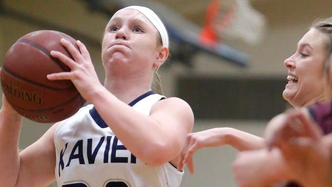 Xavier's Anna Loken will join teammate Jacquelyn Karisny on Wednesday's Varsity Roundtable show.