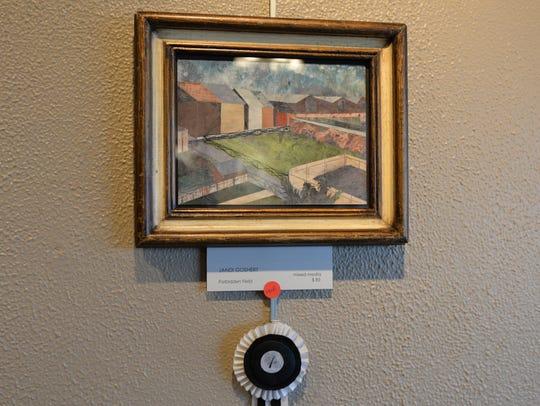 'Forbidden Field' won first prize for local artist