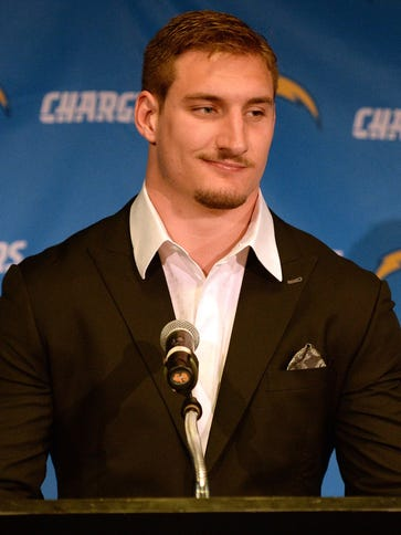 Chargers first-round draft pick Joey Bosa