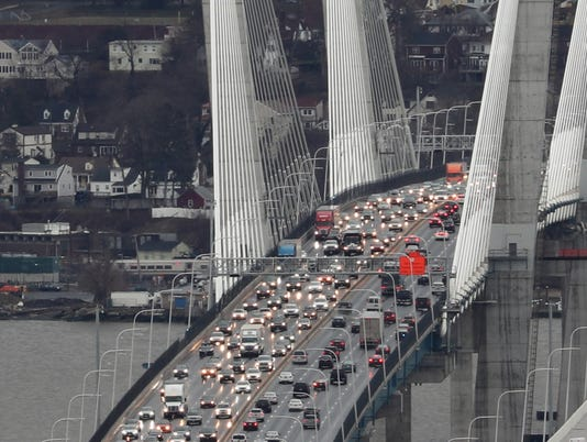 Gov. Mario M. Cuomo bridge traffic