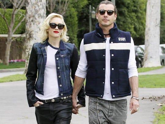 Gwen Stefani and estranged husband Gavin Rossdale