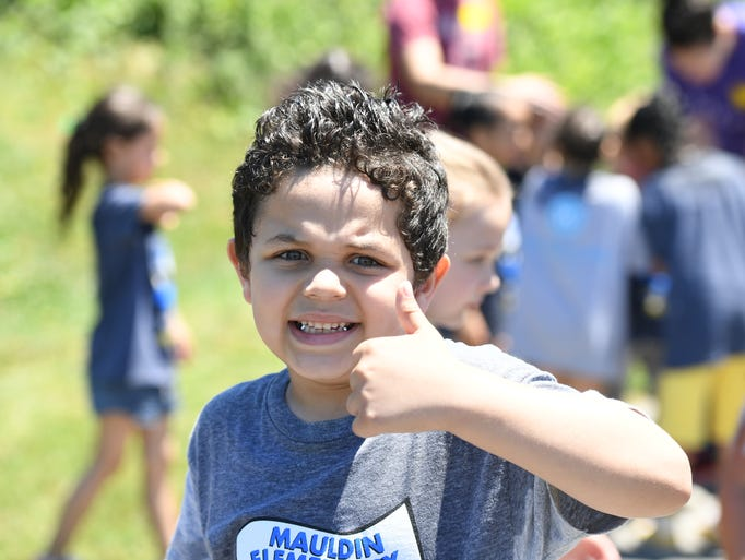 Mauldin Elementary School celebrated its last days