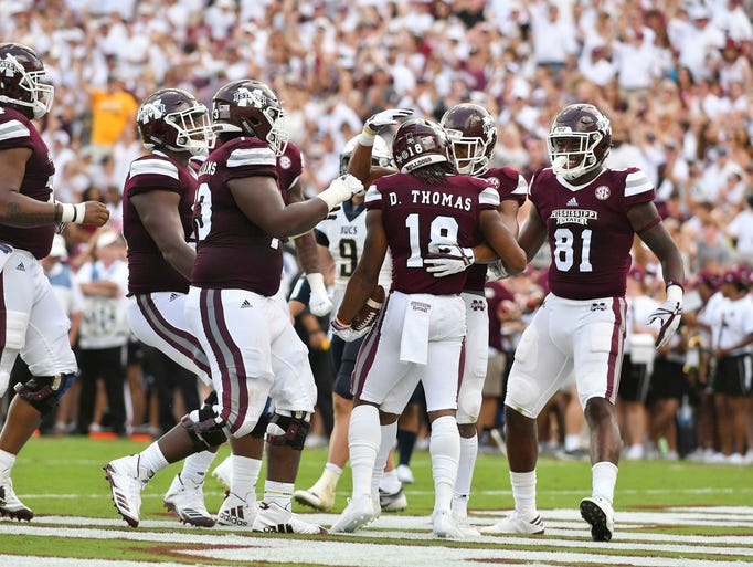 The Mississippi State season opened with a 49-0 win