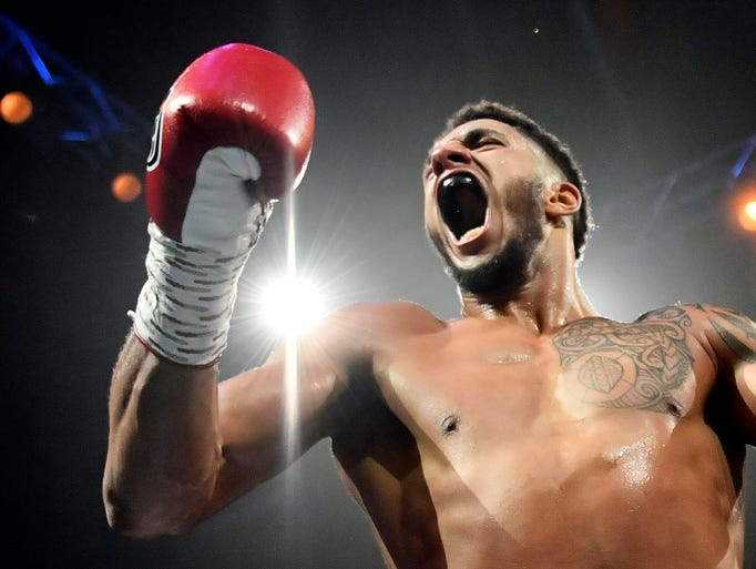 French heavyweight boxer Tony Yoka dares someone to