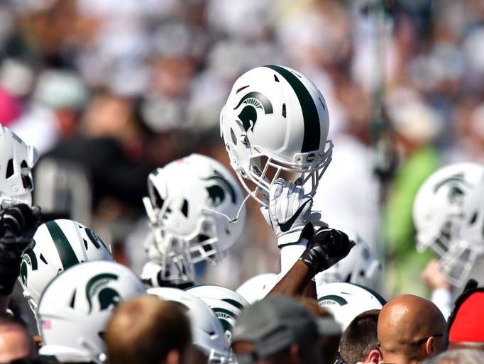 Go through the gallery to view Michigan State's football