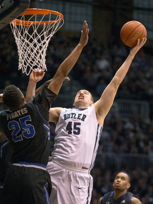 Butler's Andrew Chrabascz has been a needed third scoring option for the Bulldogs this season.