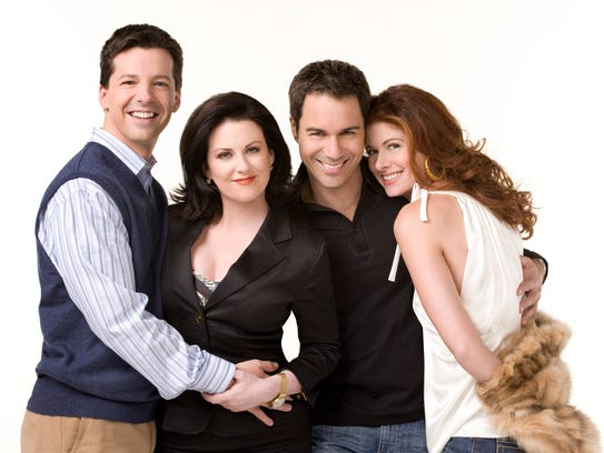 The original 'Will and Grace' gang: Sean Hayes as Jack