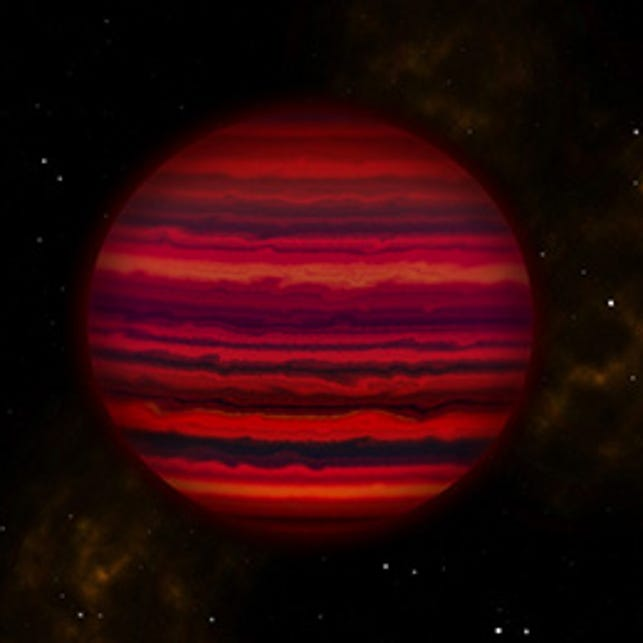 Clouds of water spotted on Jupiter-like brown dwarf