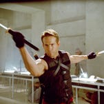 "Ryan Reynolds in a scene from the motion picture ""X-Men Origins: Wolverine."""