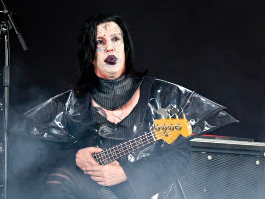 Twiggy Ramirez (Jeordie White) the former bassist and