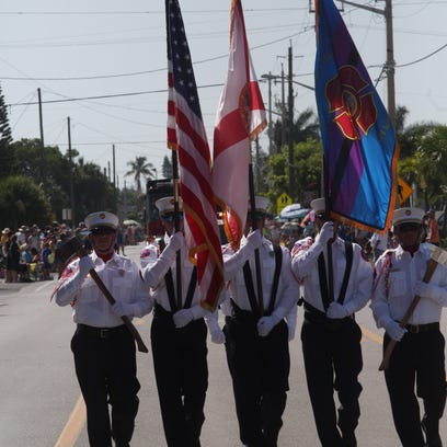 Images from the Fort Myers Beach 4th of July Parade.