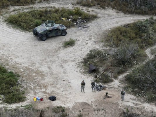 National Guard Patrol Texas Border