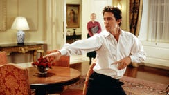 Hugh Grant scored two big moments in the new 'Love