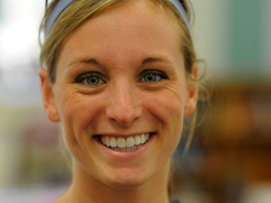 Lindsey Hein was a volunteer trainer for the Super Bowl Legacy Mini Marathon Team in 2011.
