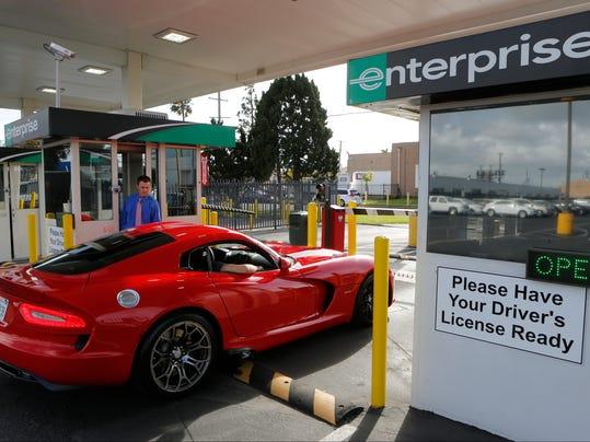 Enterprise Car Rental Reno International Airport
