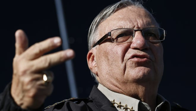 In 2012, no fewer than three Republicans asked for Maricopa County Sheriff Joe Arpaio's support.