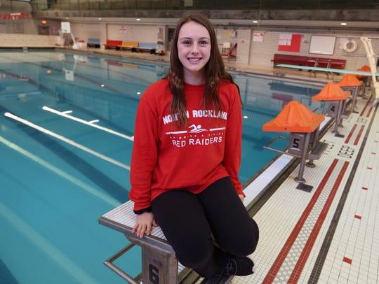 North Rockland's Lauren Aylmer, Rockland swimmer of