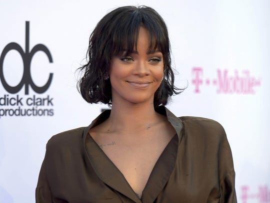 Rihanna says music and street culture inspire her.