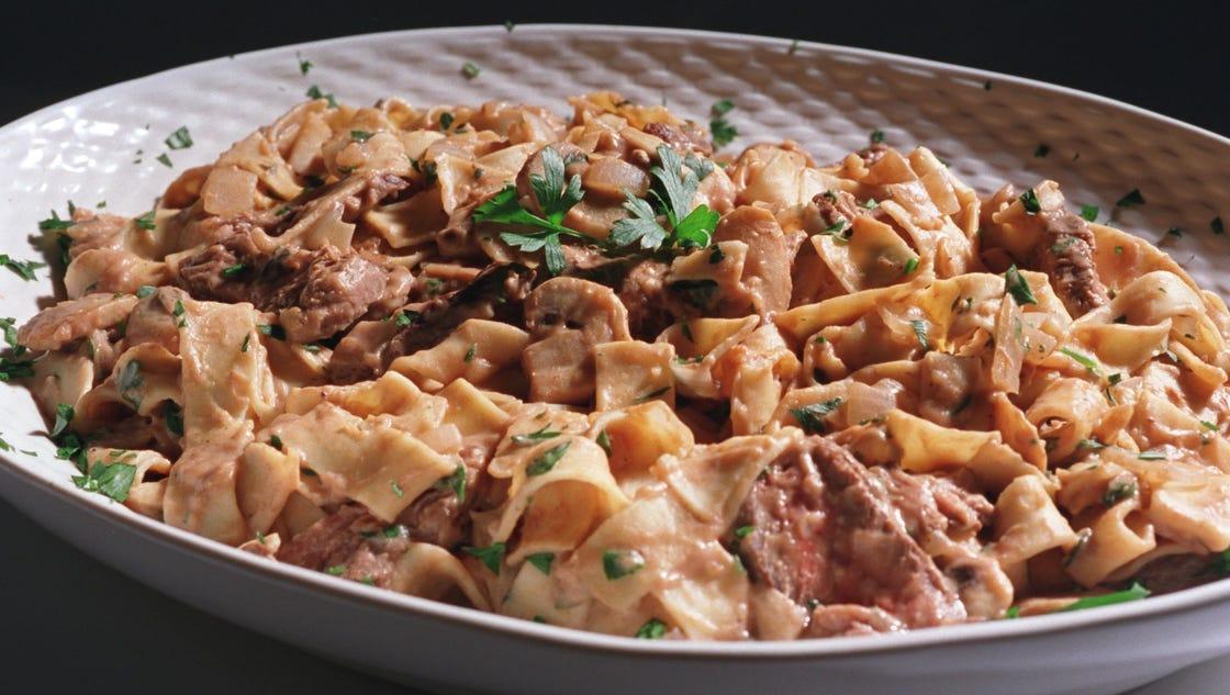 Food Network Kitchen Beef Stroganoff
