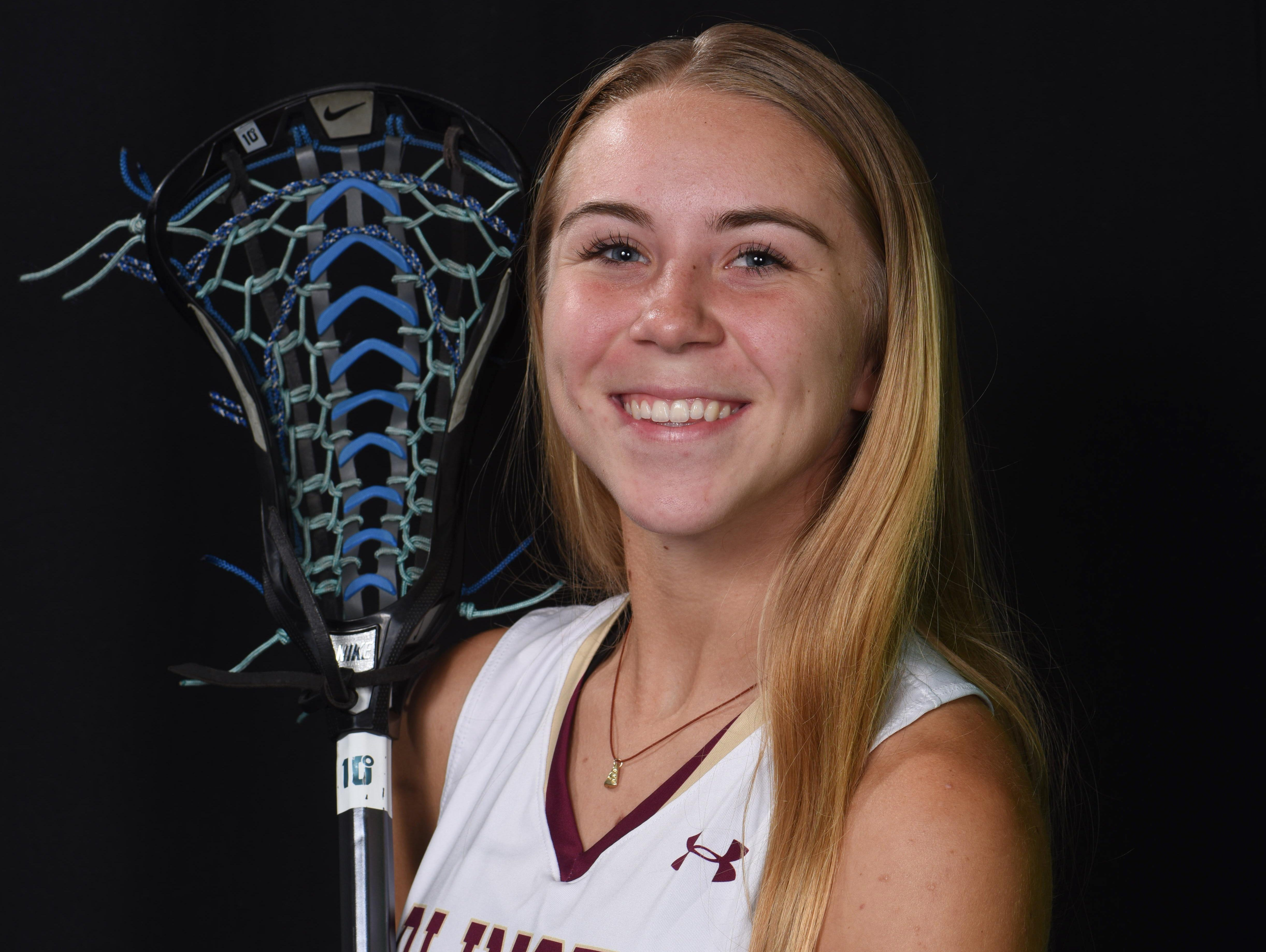 Arlington High School's Taylor Nyberg was named the Journal's girls lacrosse Player of the Year.