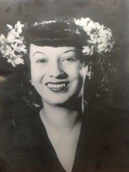 Lucile Roan, wife of Sanford roan.