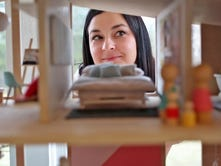 See the tiny details of dollhouses to be sold for good cause