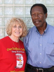 Lydia Forbes and Gene Idlette
