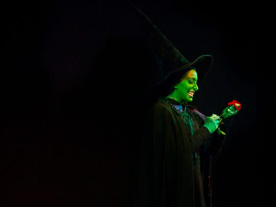 Sami Doherty performs in The Wizard of Oz recently at the Broadway Palm in Fort Myers.