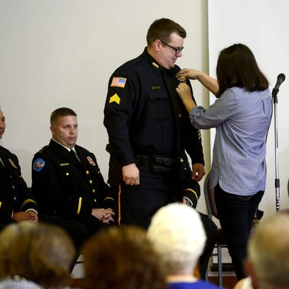 Pensacola Police Department promotes supervisors