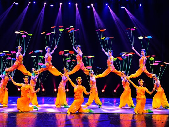 The Shanghai Acrobats will perform October 27 at The Grand.