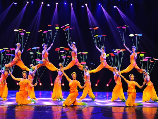 The Shanghai Acrobats will perform Nov. 13 at the Strand-Capitol in York.