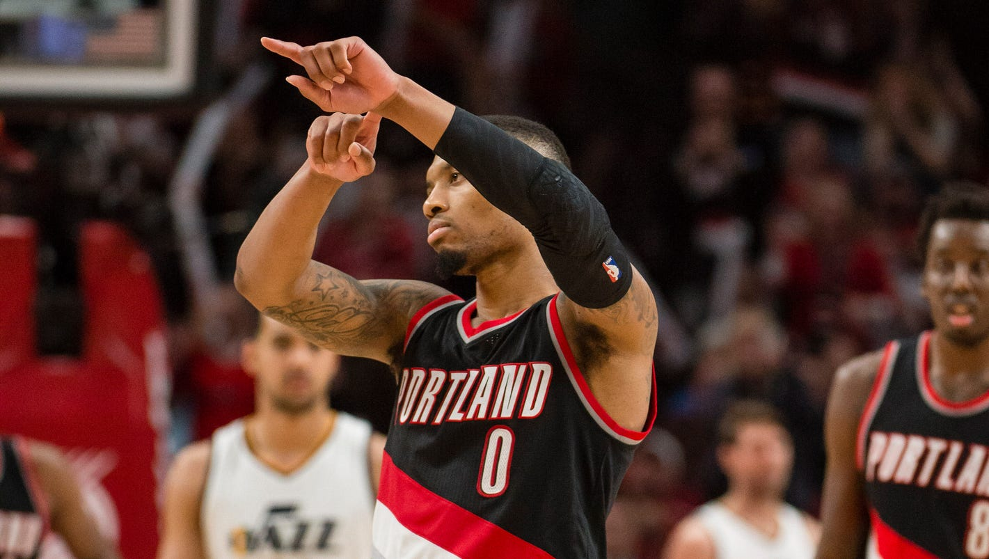 Damian Lillard pours in 59 Blazers defeat Jazz
