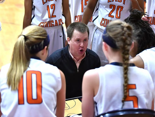 Dickson County coach Greg Tipps recently completed