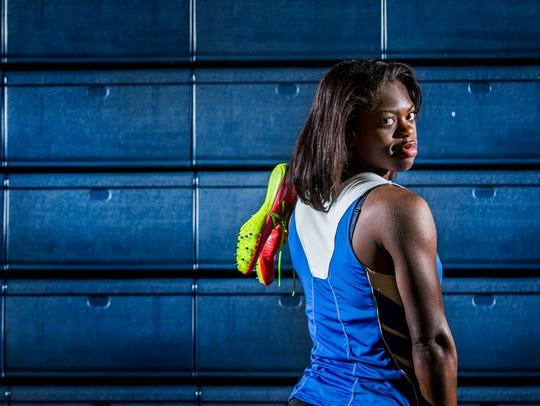 Middletown sprinter Daija Lampkin will travel to Havana,