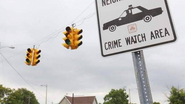 The Muncie, Indiana, intersection of East Willard and South Hackley streets, shown July 5, 2014, was the scene of a July 4 nighttime shooting that left Robert L. Smith, 38, Muncie, dead in a van.