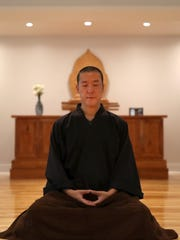 Center's founder and teacher, Guo Gu, also known as