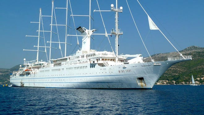 Windstar Cruises' Wind Surf.