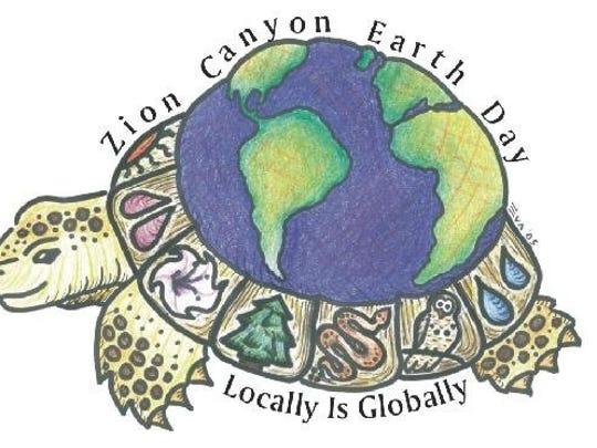 Zion Canyon Earth Day Celebration Logo