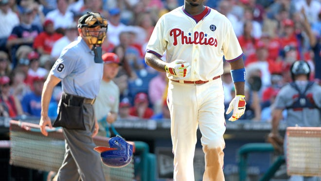 The Phillies have a big decision to make about first baseman Ryan Howard. Howard is owed $50 million over the next two years.
