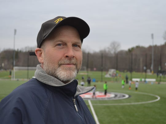 Geoff Bauman, of Blooming Grove, New Jesey, has been driving his 11-year-old daughter 40 minutes each way for two years to play on the Orangetown soccer fields.