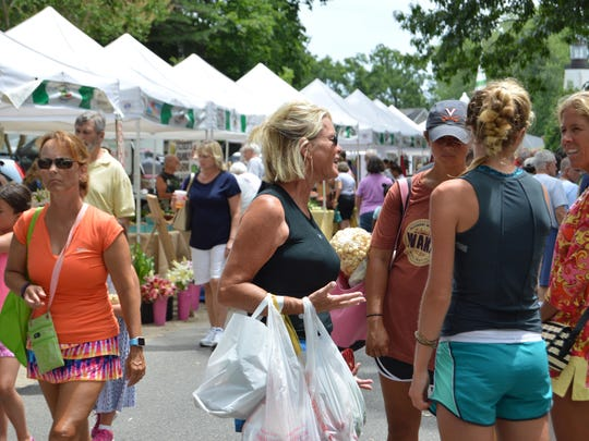 The Rehoboth Beach Farmers Market and other Delaware farmers markets will be allowed to open with restrictions starting Friday.