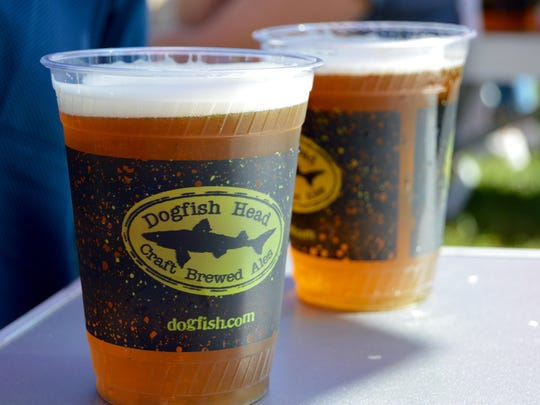 Dogfish Head Brewery is one of the local favorites taking part in Brews at the Beach.