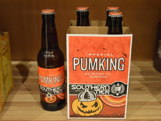 Pumking — an imperial pumpkin ale with a lot of punch.