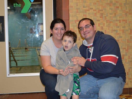 Sarah, Ethan and Patrick Racine -- Nov 21 2015