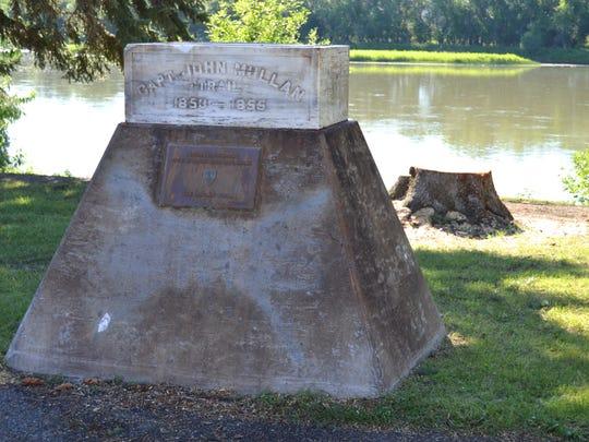 Fort Benton Statue Falls In Storm