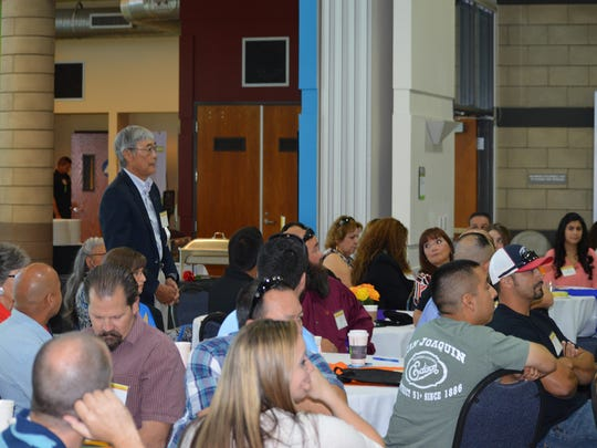 Tulare County Supervisor Allen Ishida attended the Hispanic Heritage Month 2016 celebration held on Friday in Tulare.