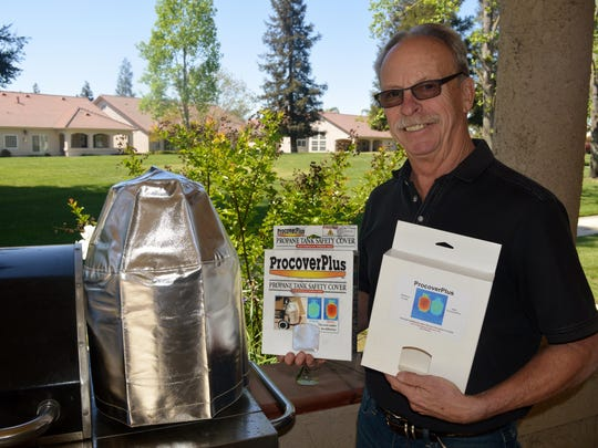 ProcoverPlus, reduces propane grill fires, protects firefighters from Boiling Liquid Expanding Vapor Explosion, BLEVE, decreases the number of propane emissions and reduces the amount of smog in the Valley.
